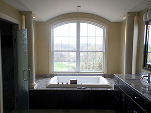 Dream Builders Smith house master bathroom